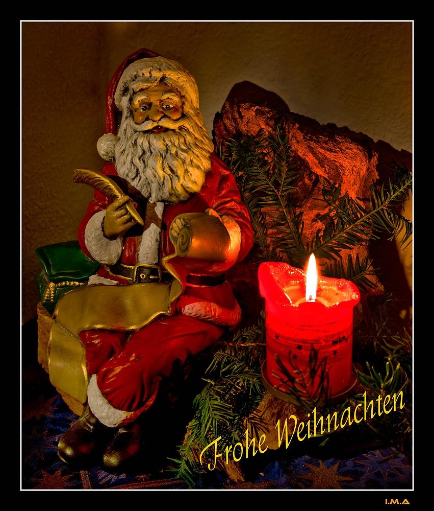 Ein Weihnachtsgruss an alle ...