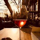 Ein Wein zum Sonnenuntergang