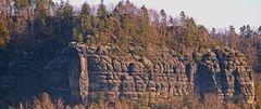 Ein weiterer Blick in die Schrammsteinkette