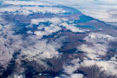 Ein weiteres Bild aus dem Flugzeug über Grönland