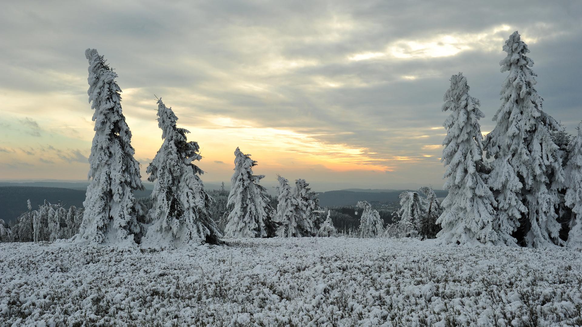 Ein wenig Winterlandschaft.....