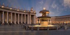 Ein Werk von Carlo Maderno (1613) - Petersplatz Rom