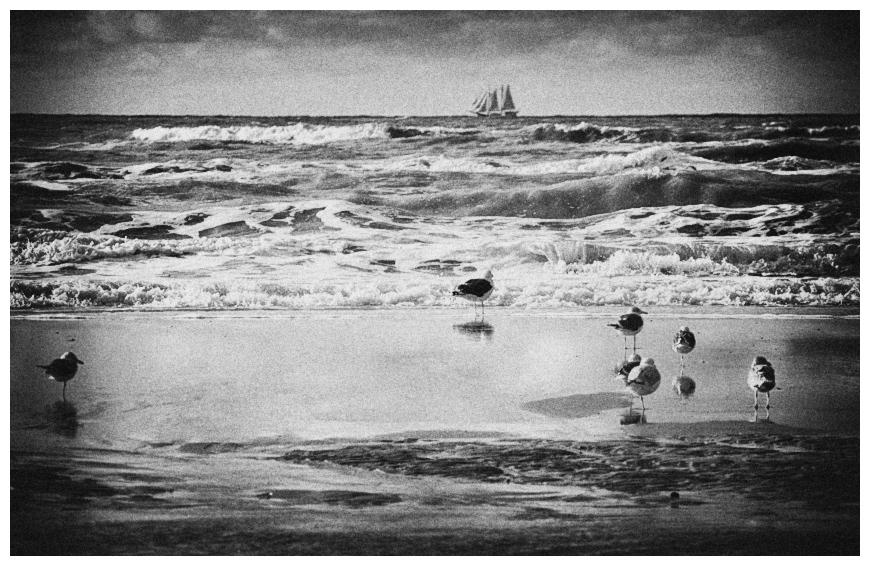 Ein Wind weht von Süd und zieht mich hinaus auf See