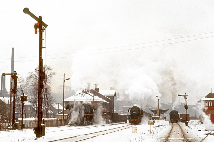 Ein Winter mit viel Dampf in Unterwellenborn