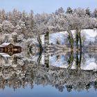 Ein Wintermärchen am See