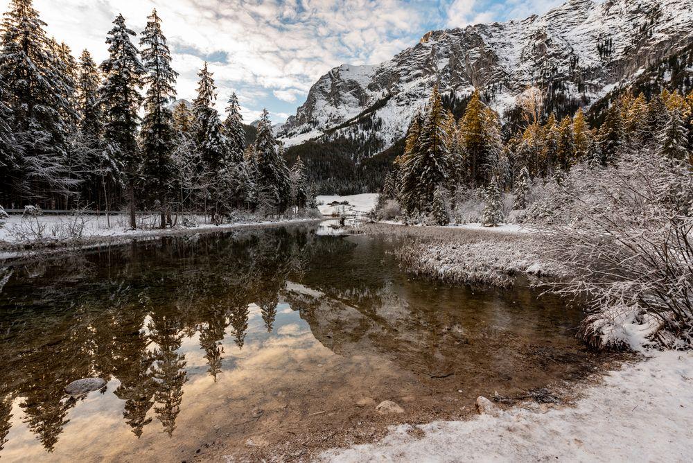 Ein Wintertag am Hintersee