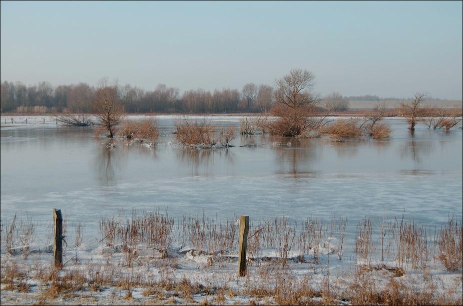 Ein Wintertag am Niederrhein