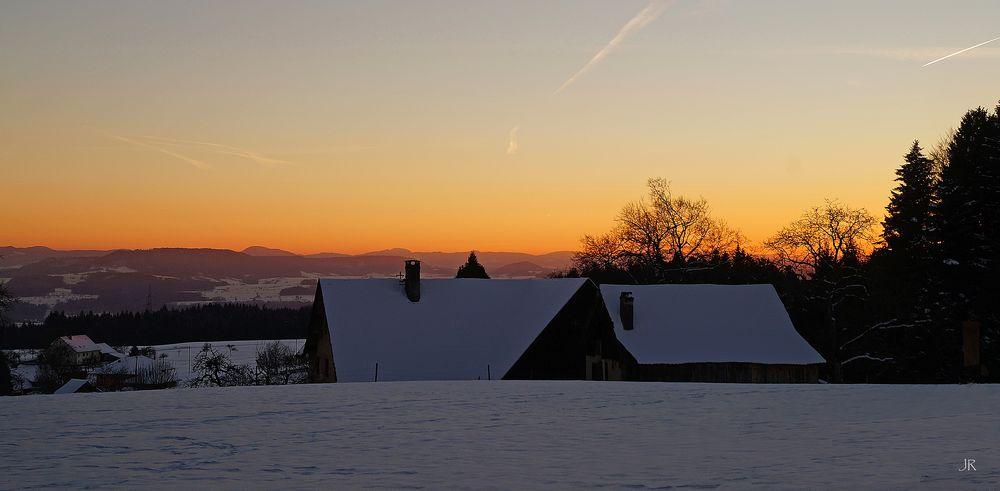 Ein Wintertag im Hotzenwald