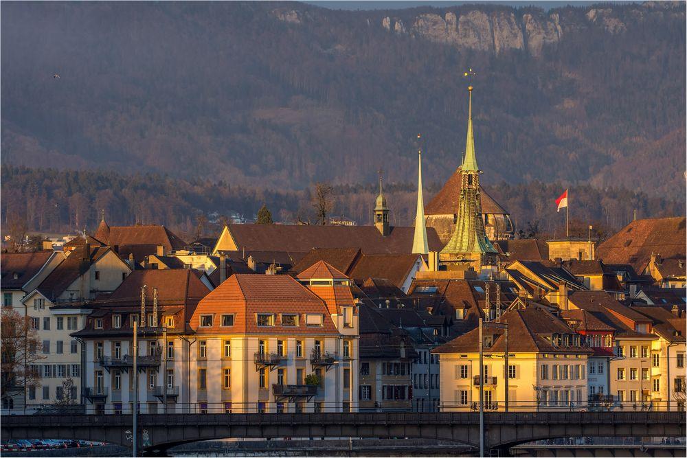 Ein Wintertag in Solothurn
