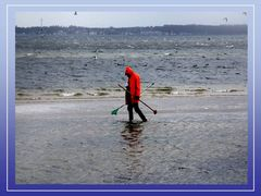 Ein Wintertag in Strande an der Kieler Förde