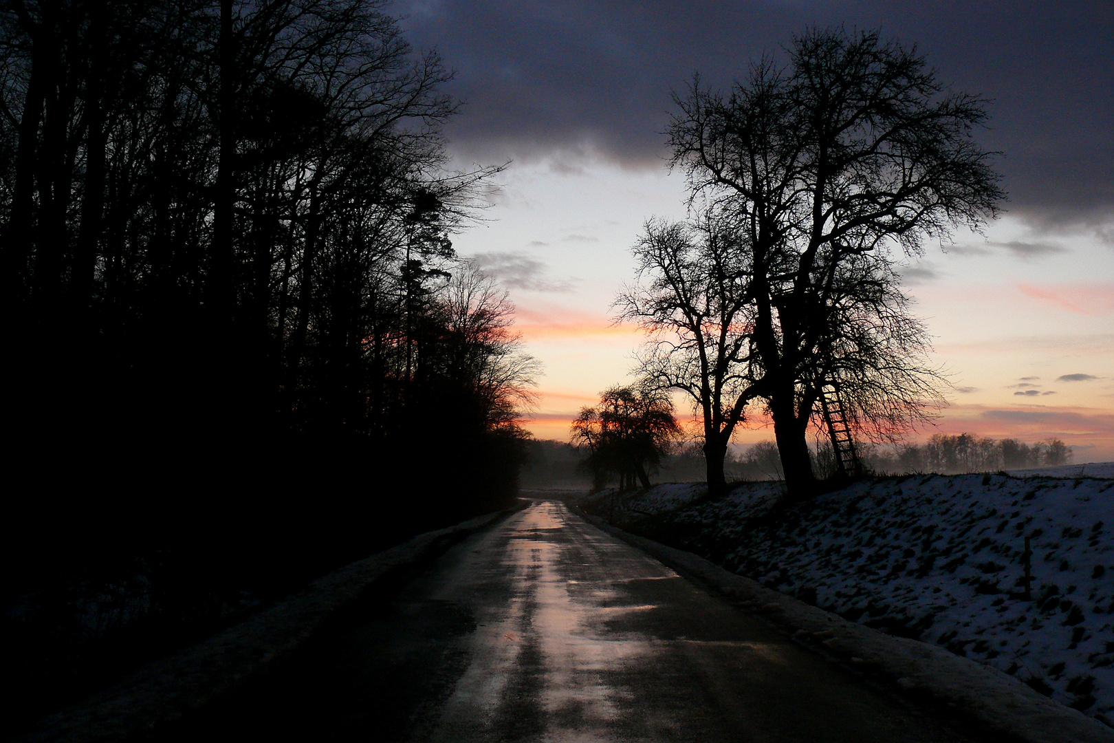 """""""ein Wintertag neigt sich dem Ende zu"""""""