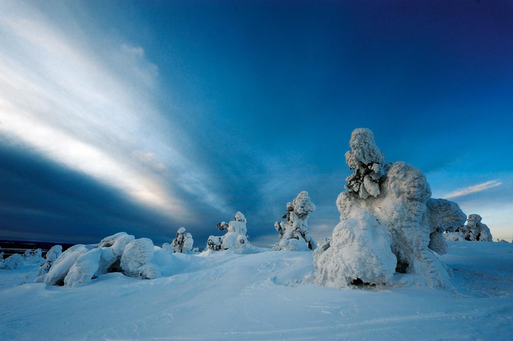 Ein Wintertraum, Lappland, Finnland
