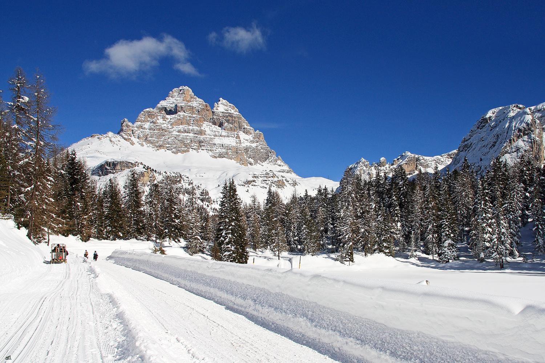 Ein Wintertraum - unerreichbar in den Dolomiten
