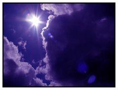 ein Wolkenloch