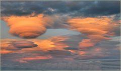 ein Wolkenschauspiel...