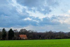 Ein Wolkentag am Niederrhein