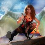 ........ein wütender Engel!