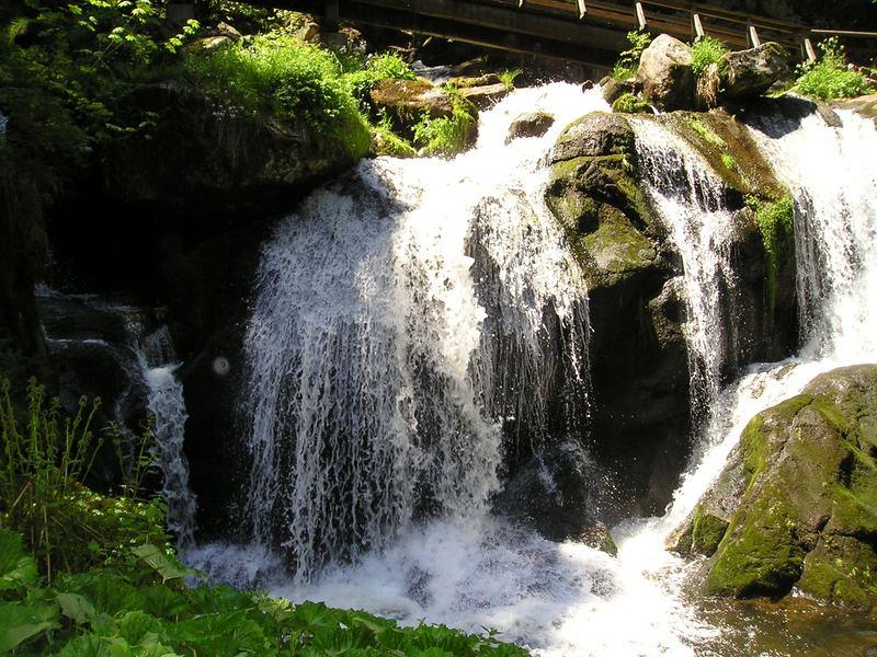Ein wunder schöner Wasserfall, diesen Wasserfall habe ich im Schwarzwald gefunden !