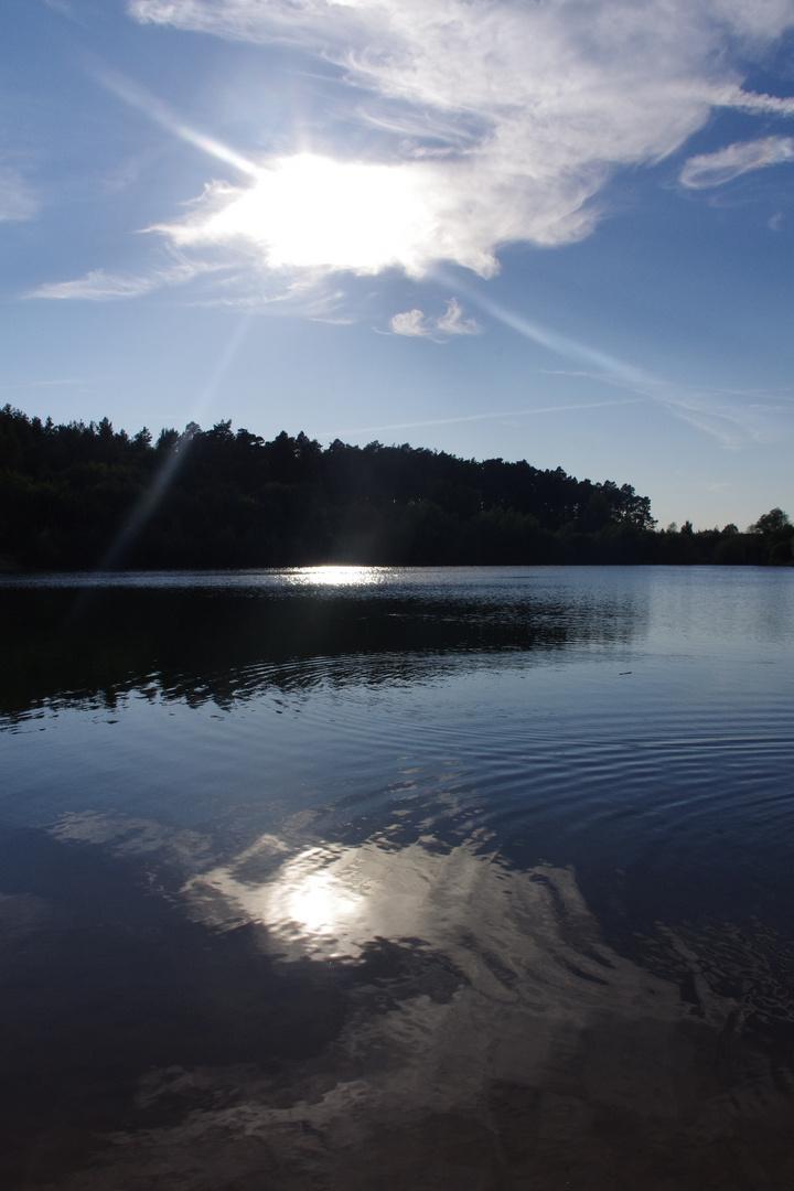 Ein wunderschöner Abend am See...