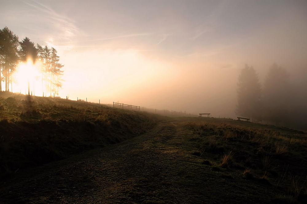 ein wunderschöner Oktobermorgen