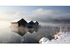 Ein zauberhafter Wintermorgen ...