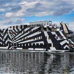 ..ein Zebra im Nord-Ostsee-Kanal...