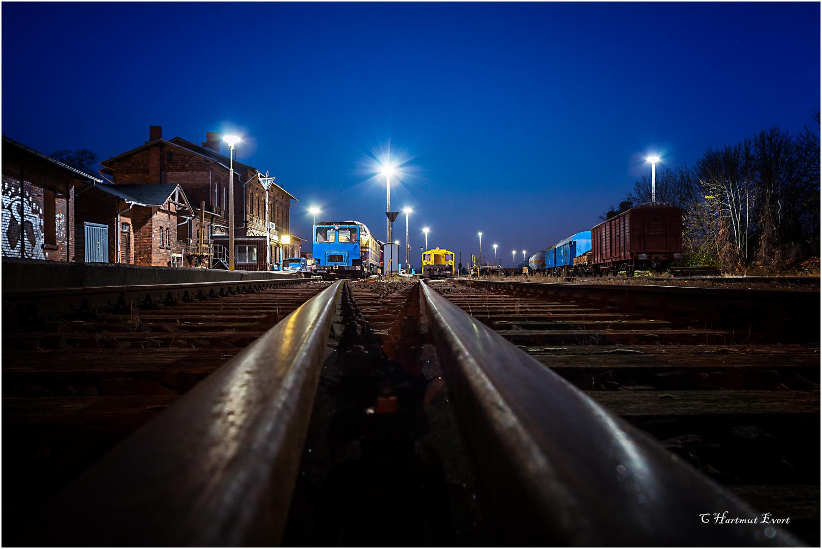 Ein Zug wird kommen.......