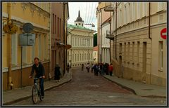 Einbahnstrasse in Vilnius