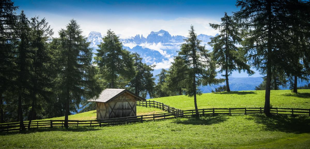 Einblick in die Dolomiten