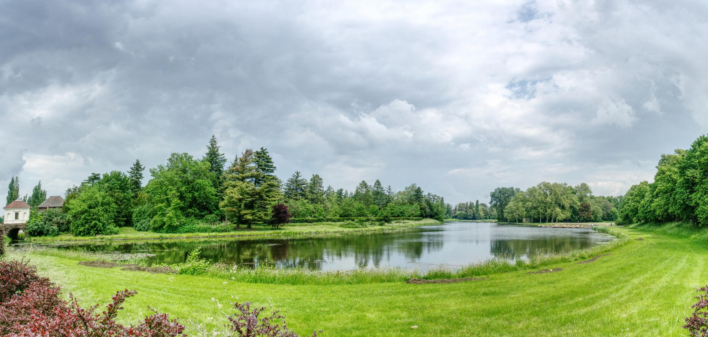 Einblick zum Wörlitzer Park