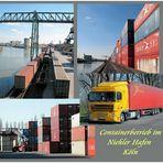 Eindrücke aus dem Containerhafen