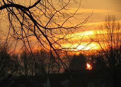Eindrücke beim ganz in den Sonnenaufgang 5