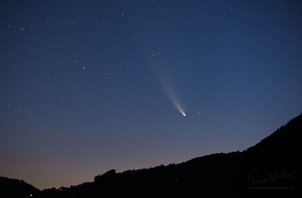 Eindrücklicher Komet Neowise