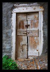 Eine alte Tür ...