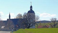 Eine berühmte Kirchen im Landkreis Sächsische Schweiz-Osterzgebirge,...
