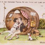 Eine besondere Postkarte von früher