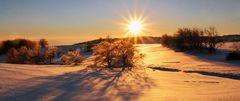 Eine besonders gelungene Sonne, später so nicht oft erreicht,