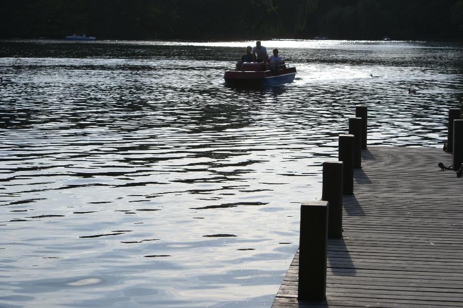 Eine Bootsfahrt