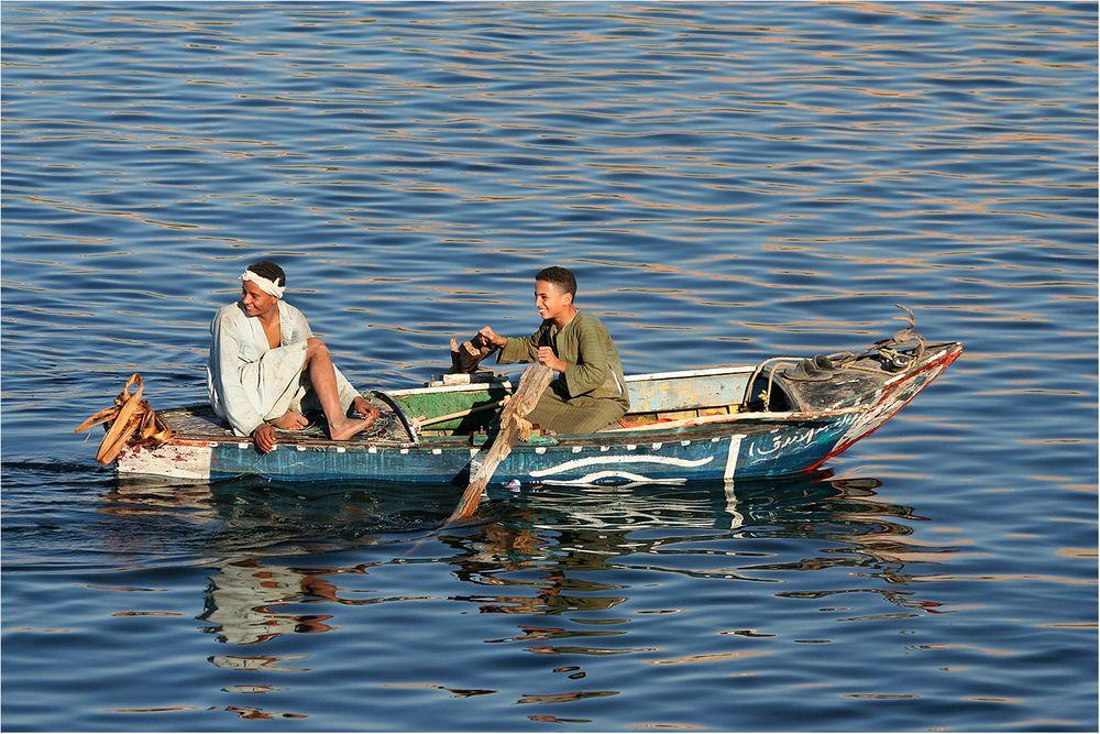 Eine Bootsfahrt....