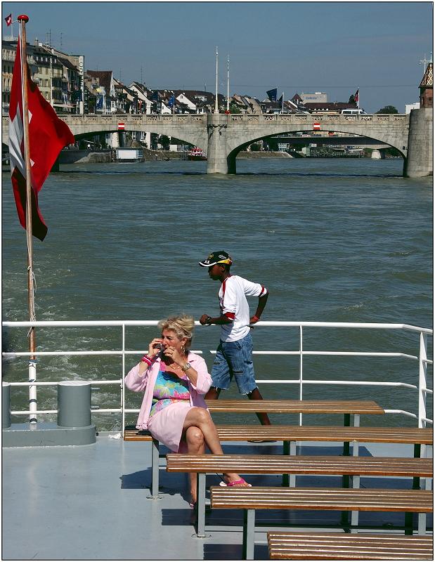 ... eine Bootsfahrt, die ist lustig ...