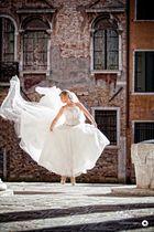 Eine Braut in Venedig