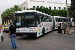 Eine Busreise in Tunesien, kann abenteuerlich sein