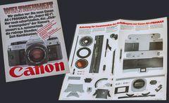 Eine CANON AE-1 - aus Papier ...
