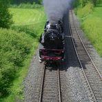 Eine Dampflock nach Neuenmarkt -Wirsberg