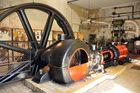 Eine Dampfmaschine