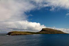 Eine der Färöer Inseln