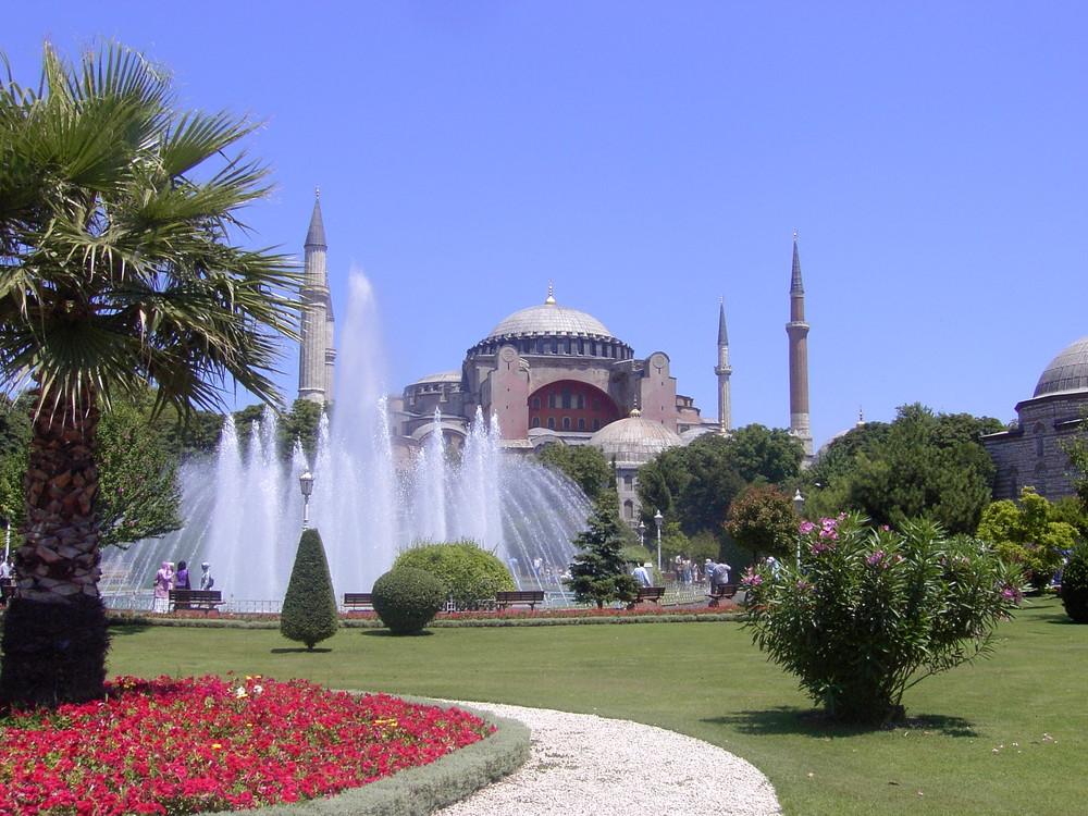 eine der vielen Moscheen