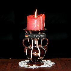 Eine Deutschland Kerze