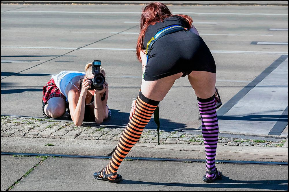 Eine echtes Streetfoto - grafIn