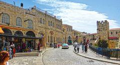 eine Ecke des alten und schönen Jerusalem